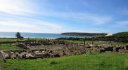 Bolonia: la playa e l'antica città romana